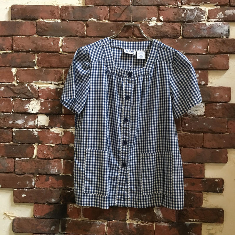LADIES GINGHAM CHECK BLOUSE