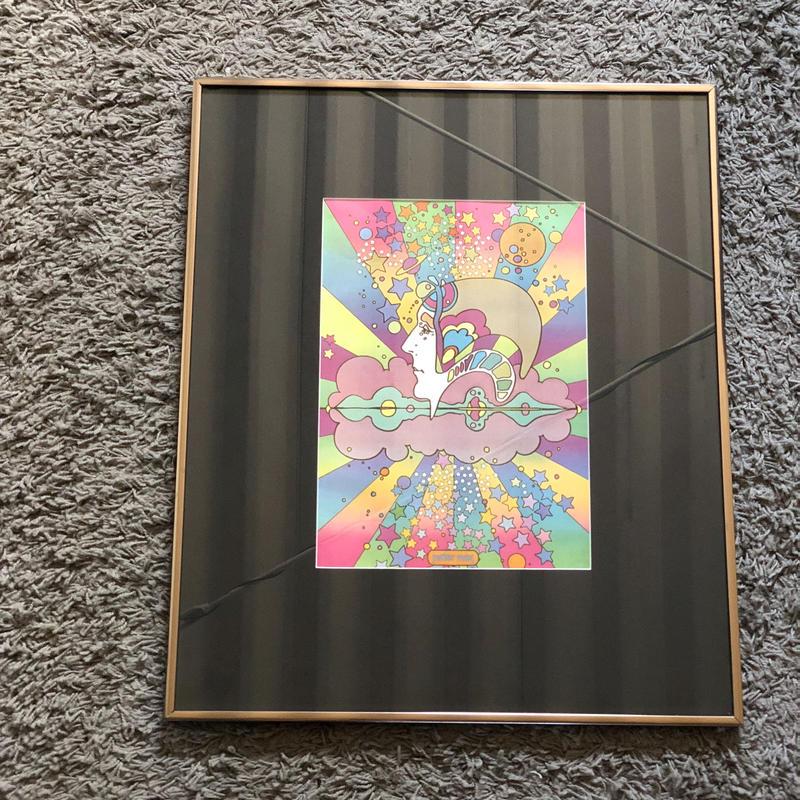 60-70s PETER MAX WALL OBJECT