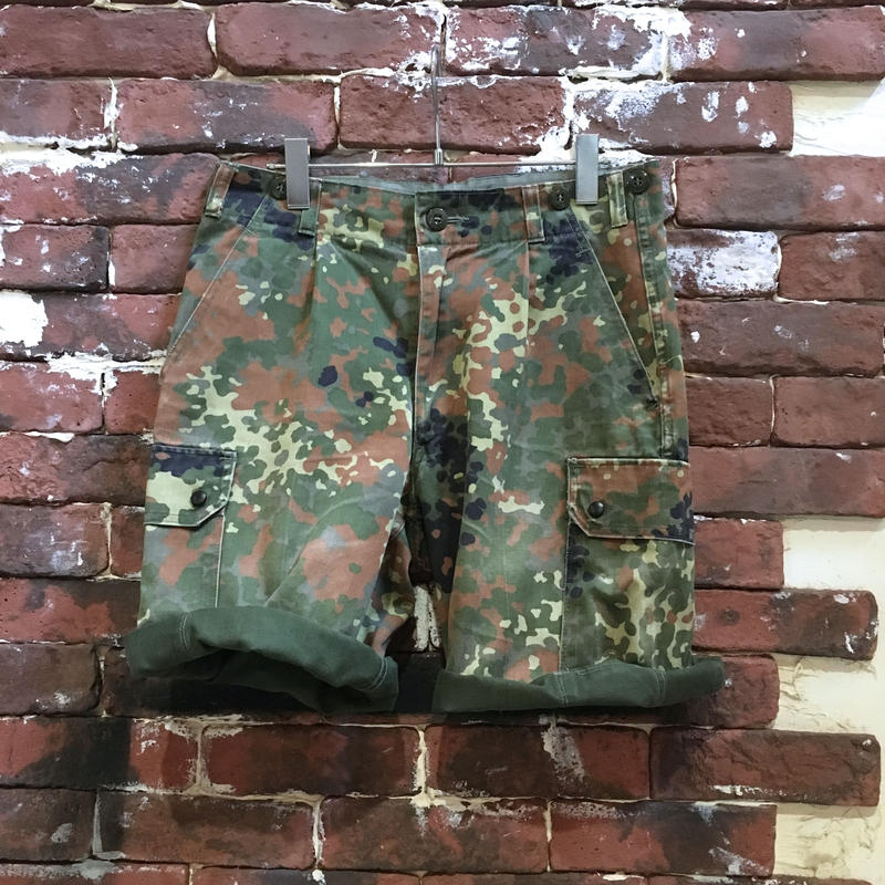 GERMAN ARMY CAMO SHORTS