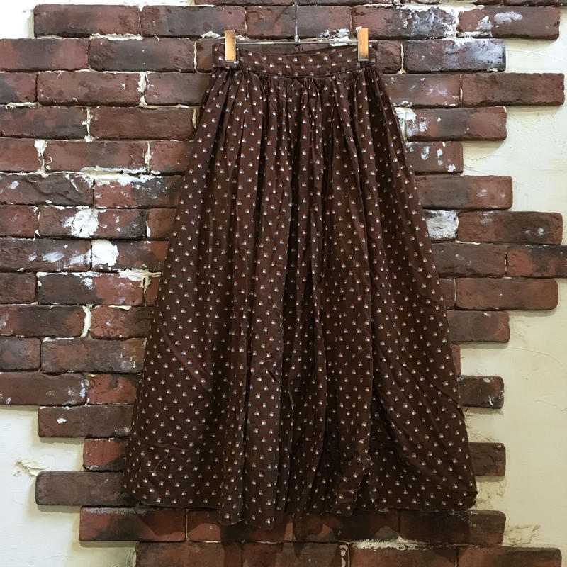 LADIES VINTAGE COTTON SKIRT
