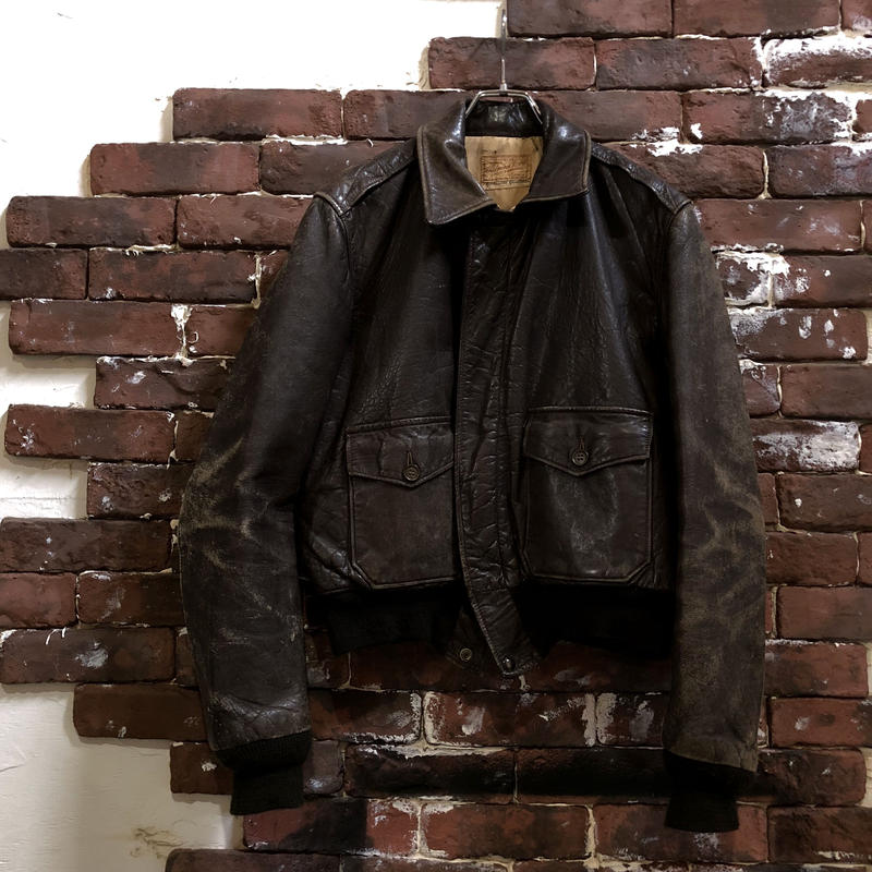 40s LEATHER SHORT JACKET