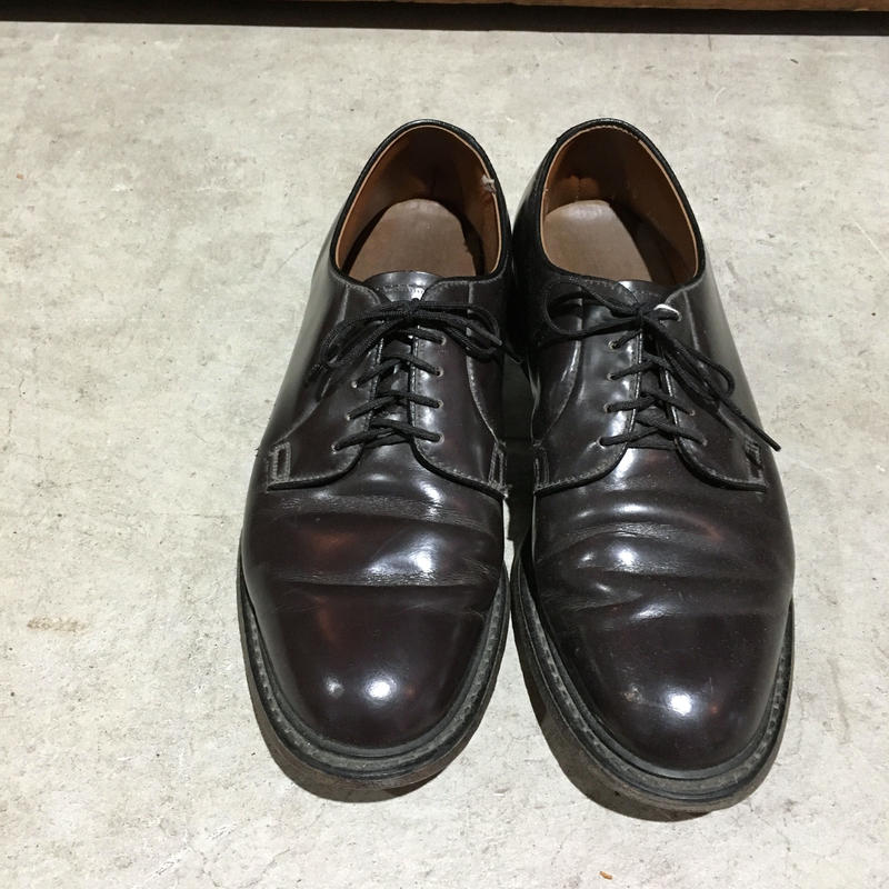 ~70s SEARS LEATHER PLAIN TOE SHOES