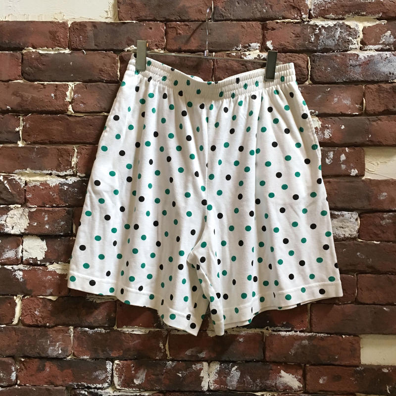 VINTAGE LADIES DOT SHORTS
