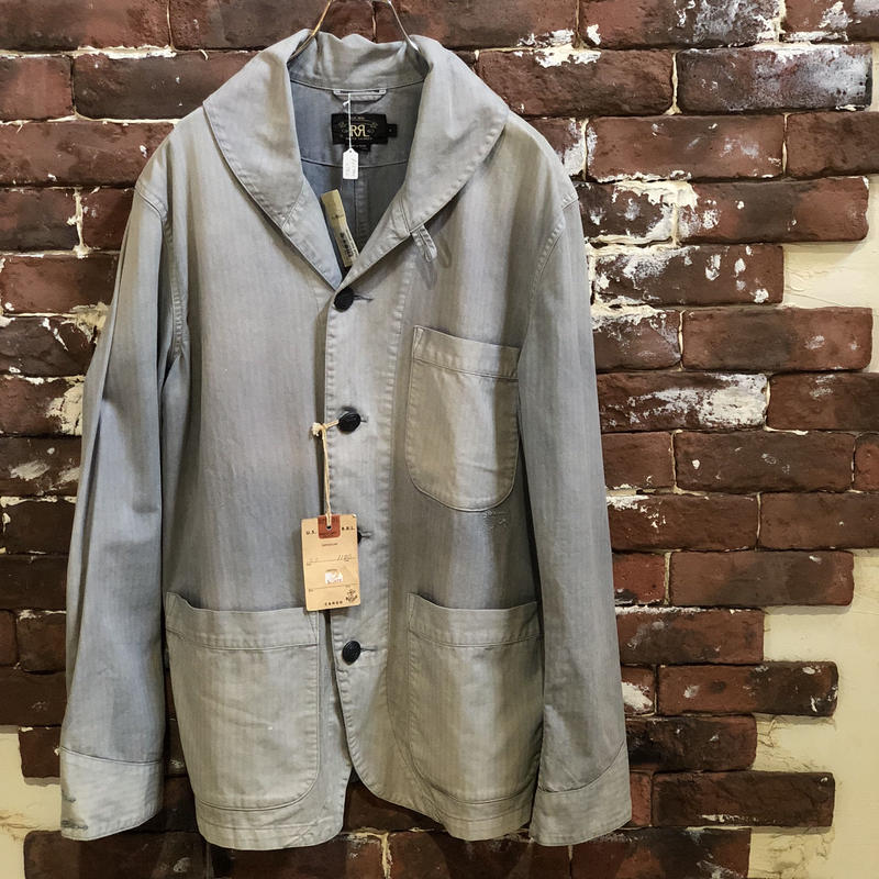 RRL COTTON SHAWL COLLAR COVERALL