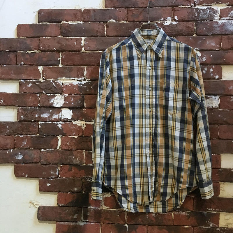 60s Andover COTTON BD SHIRT
