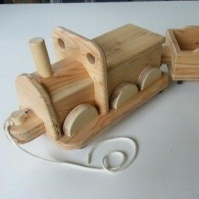 木製きしゃポッポ(炭車付き)