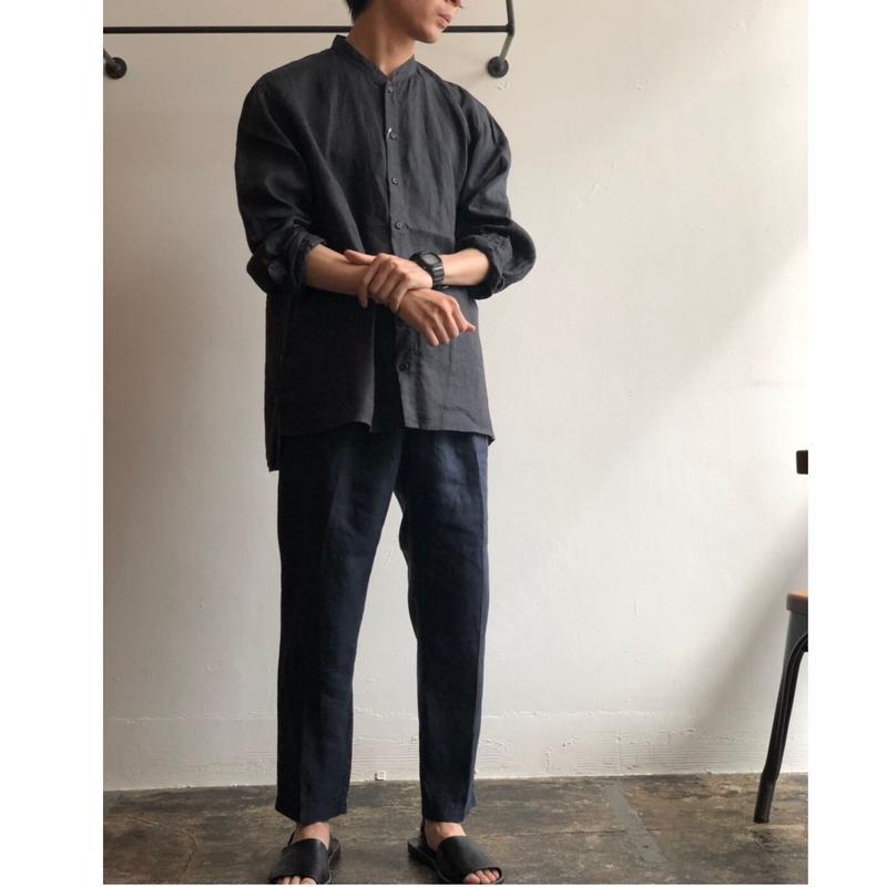 AUGUSTE-PRESENTATION/PAJAMA Look/L/S Stand Collar Shirts aujaw007