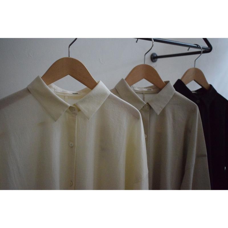 evam eva/crepe cotton square shirt tunic