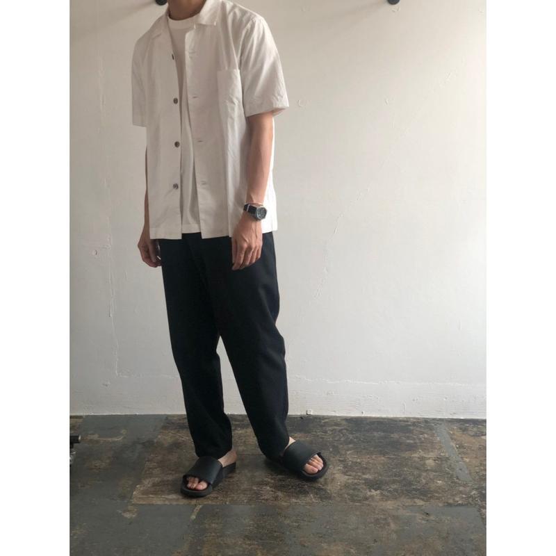 RINEN / 100/2ブロード 半袖オープンカラーシャツ 34901