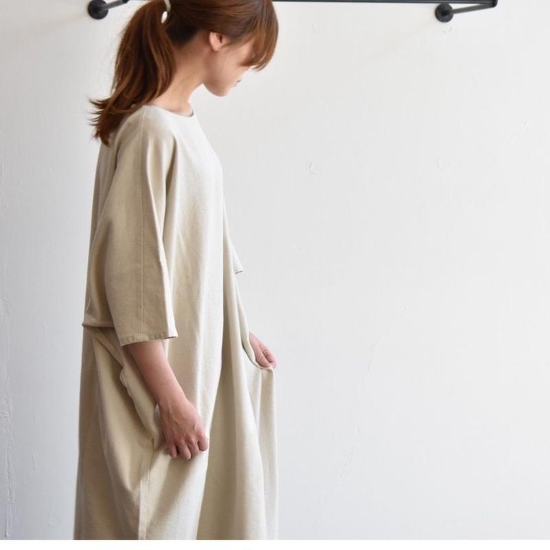 evam eva/cotton one-piece /E193T084