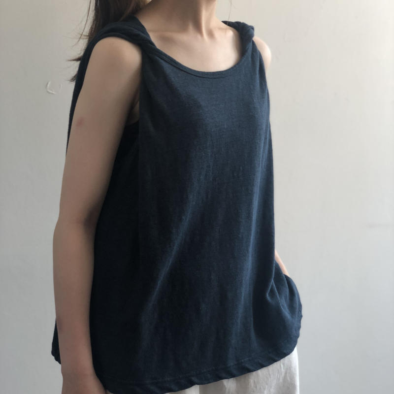 Vlas Blomme  / Twisted Tank Top  12142591