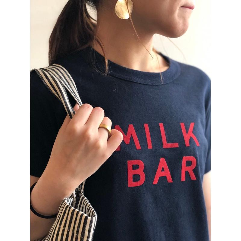 R&D.M.Co-/3034/OLDMAN'S  TAILOR  MILK BAR Tシャツ