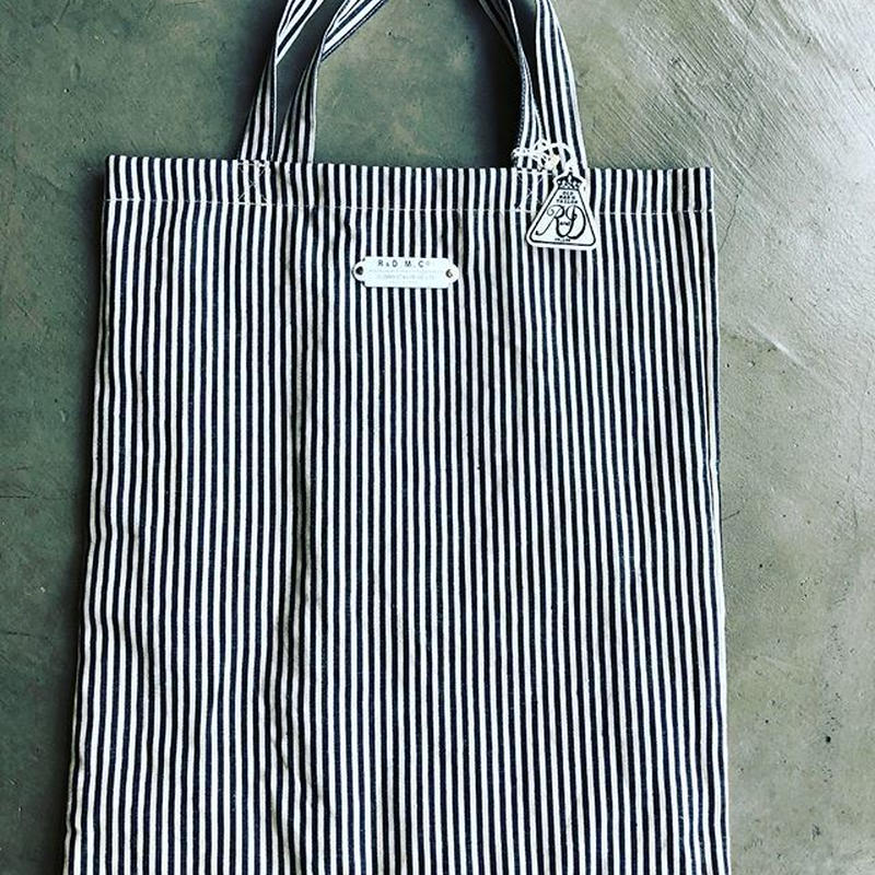 R&D.M.Co-/linen hickory toto bag