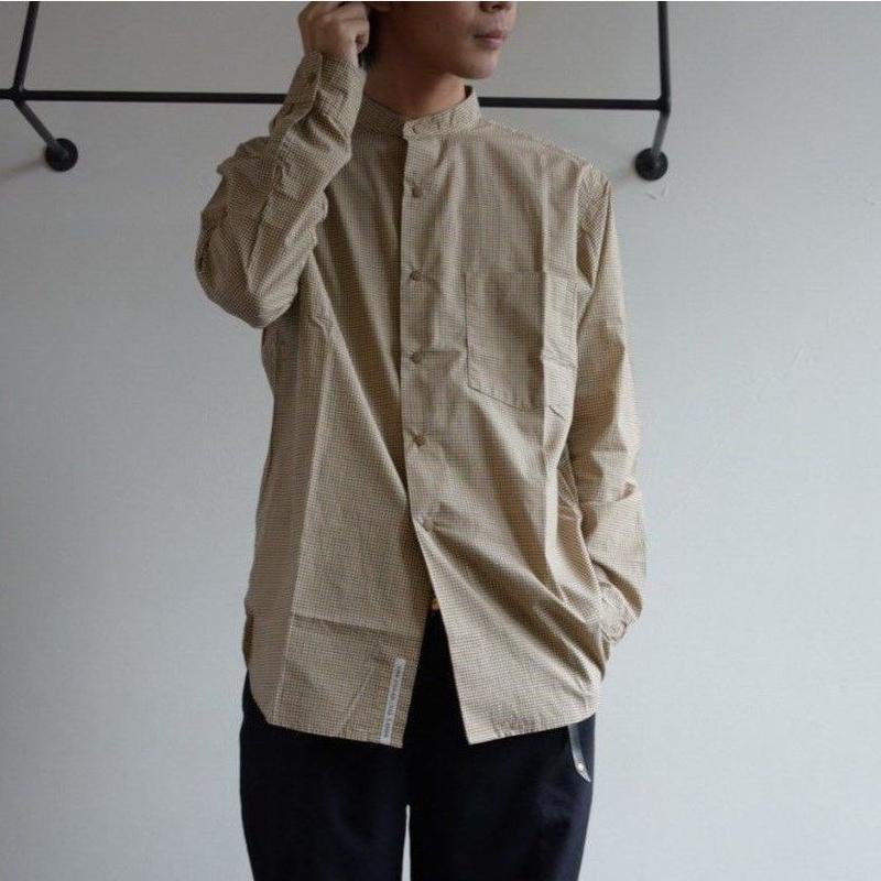 nanamica / Band Collar Wind Shirt sugf905