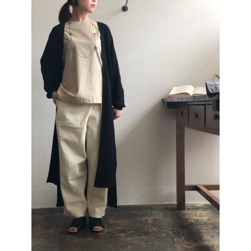 evam eva/cotton wrap pants
