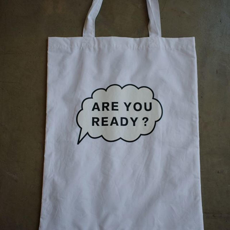 R&D.M.Co-/ARE YOU READY TOTO  BAG