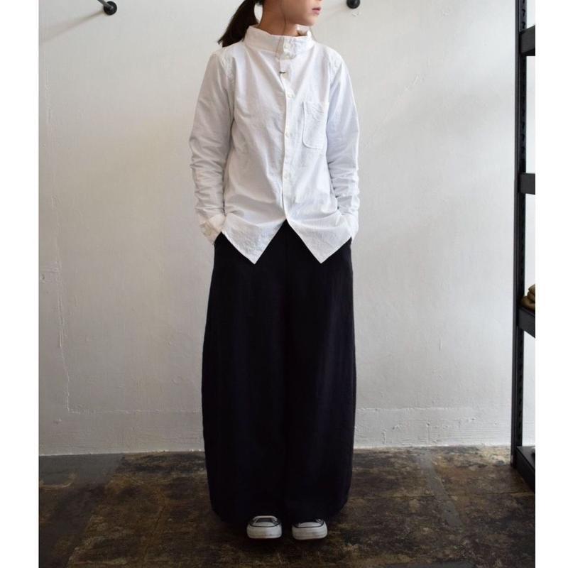 nisica /ガンジーネックシャツ