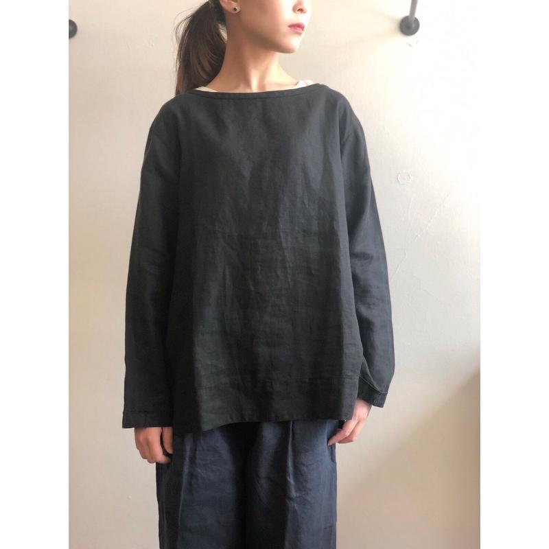AUGUSTE-PRESENTATION  Pajama Look長袖ボートネックプルオーバー
