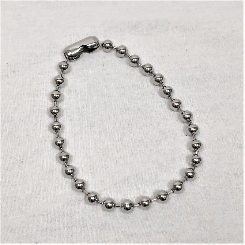 予約注文受付11/26-12/22[Hand made]Surgical Ball Chain Choker
