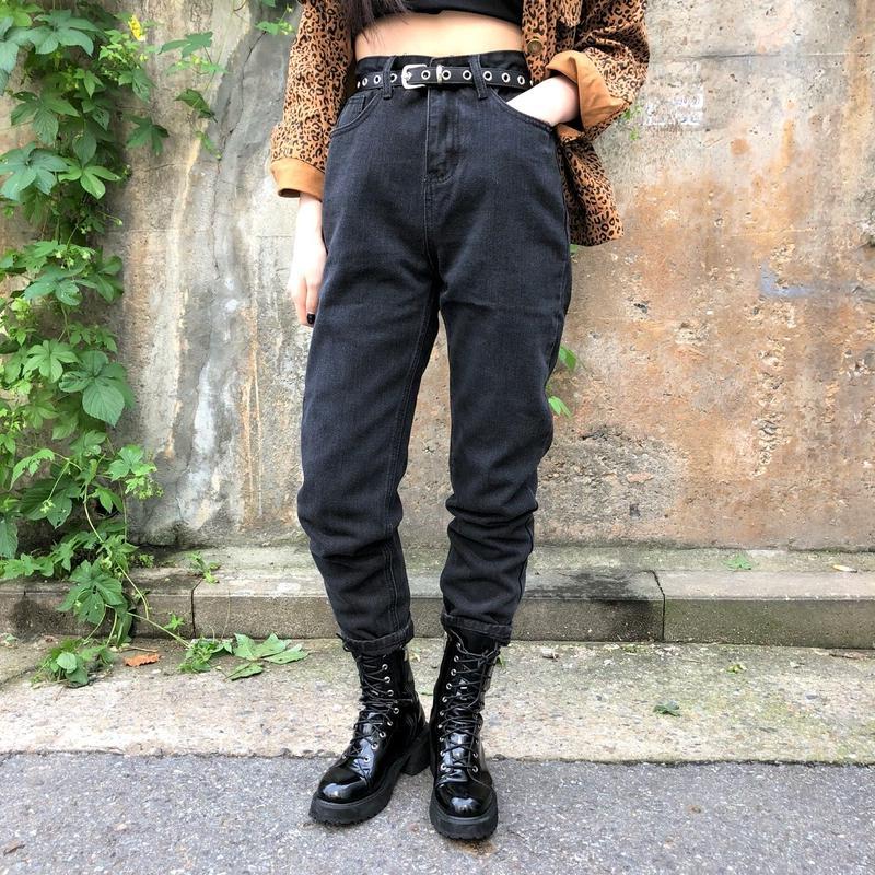 Boyfriend Dark Jeans