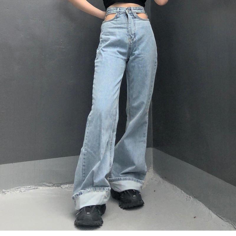 Design Open Jeans  ( 2color )