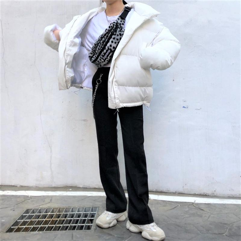 Slim Slacks Pants