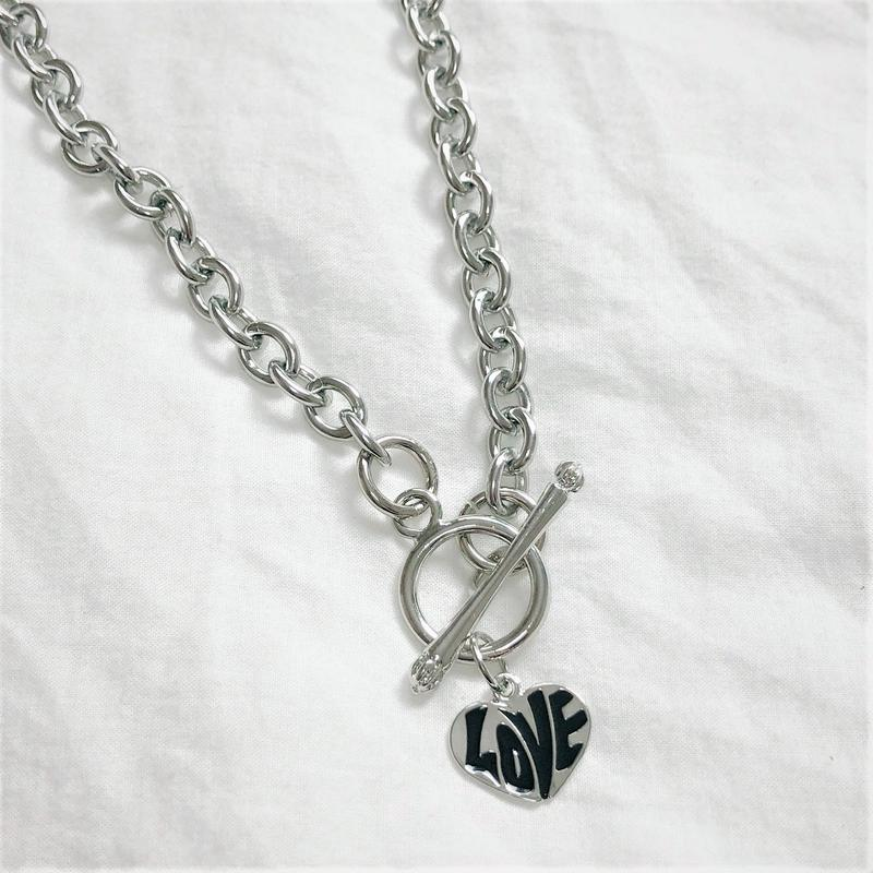 [Hand made]Surgical LOVE Necklace