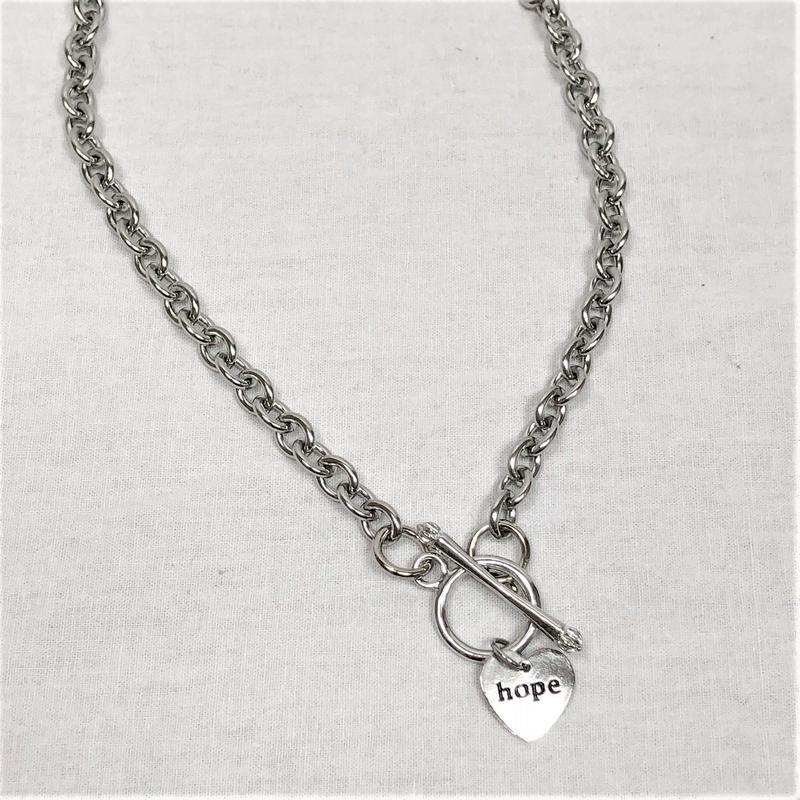 予約注文受付11/26-12/22[Hand made]Surgical HOPE Necklace