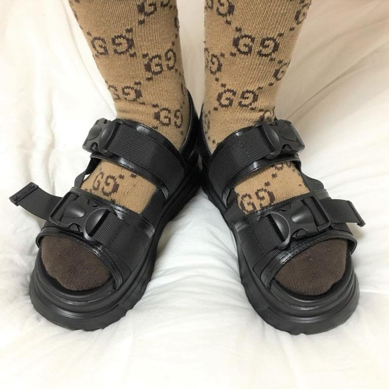 Highsole Belt Sandals