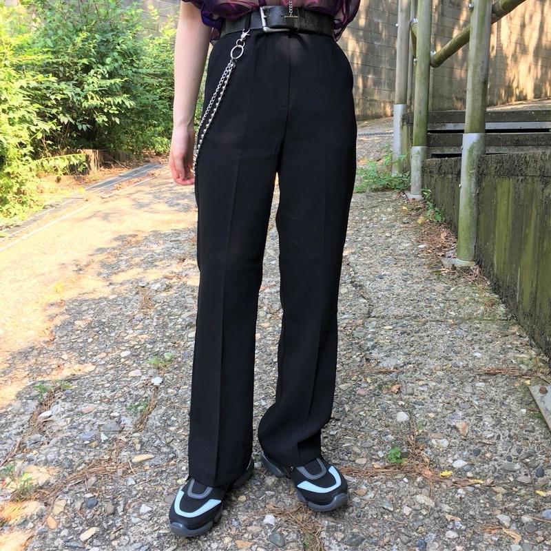 Boot-cut Slacks Pants