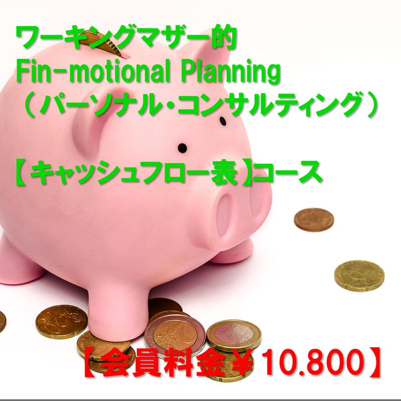 【会員料金】【Fin-motional Planning パーソナル・コンサルティング】キャッシュフロー表コース