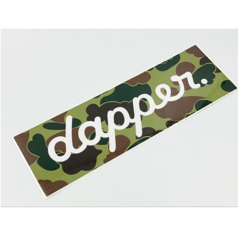 正規品【dapper. バンパーステッカー】