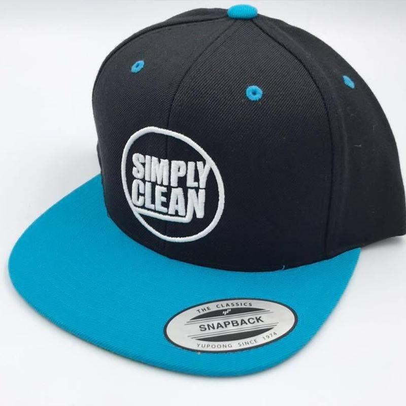 【Simply Clean ベースボールキャップ 丸ロゴ ティール】