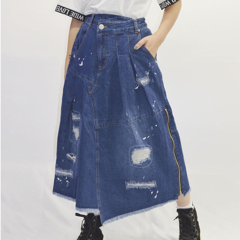 【WWL!】リメイクタック変形スカート