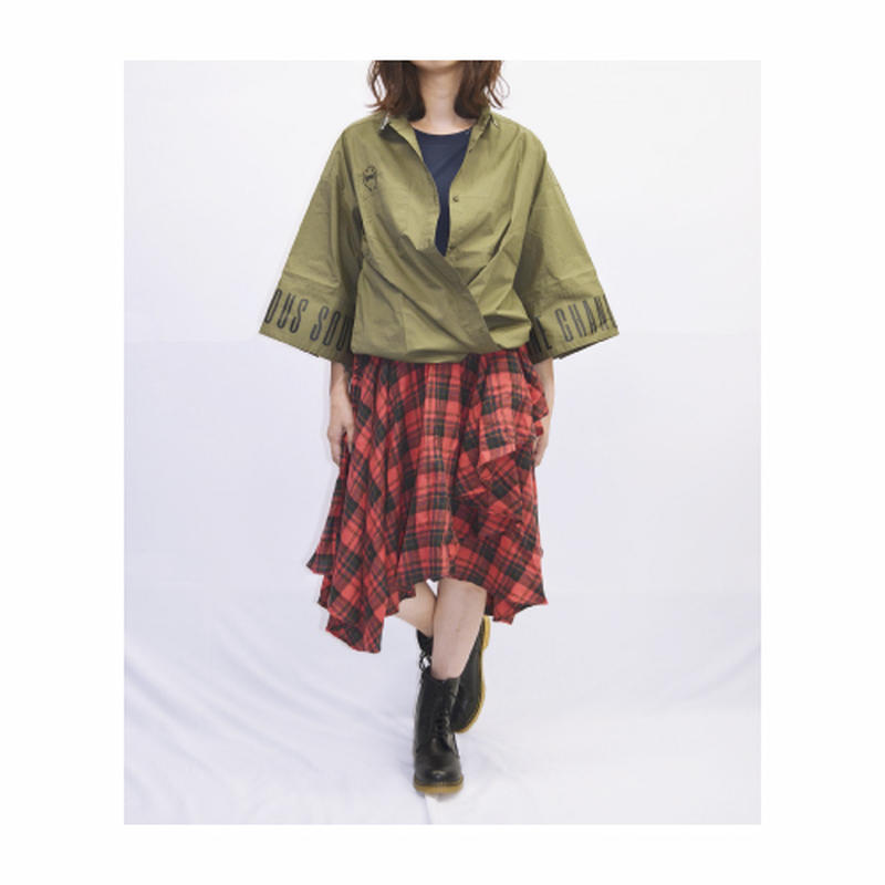 【Rydia】ラッキーコビーラインカラーシャツ