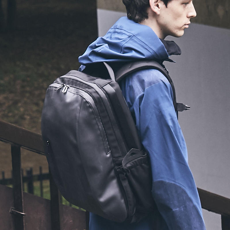 【HUNT】Crimping Backpack/BLACK(VBOM-4635)