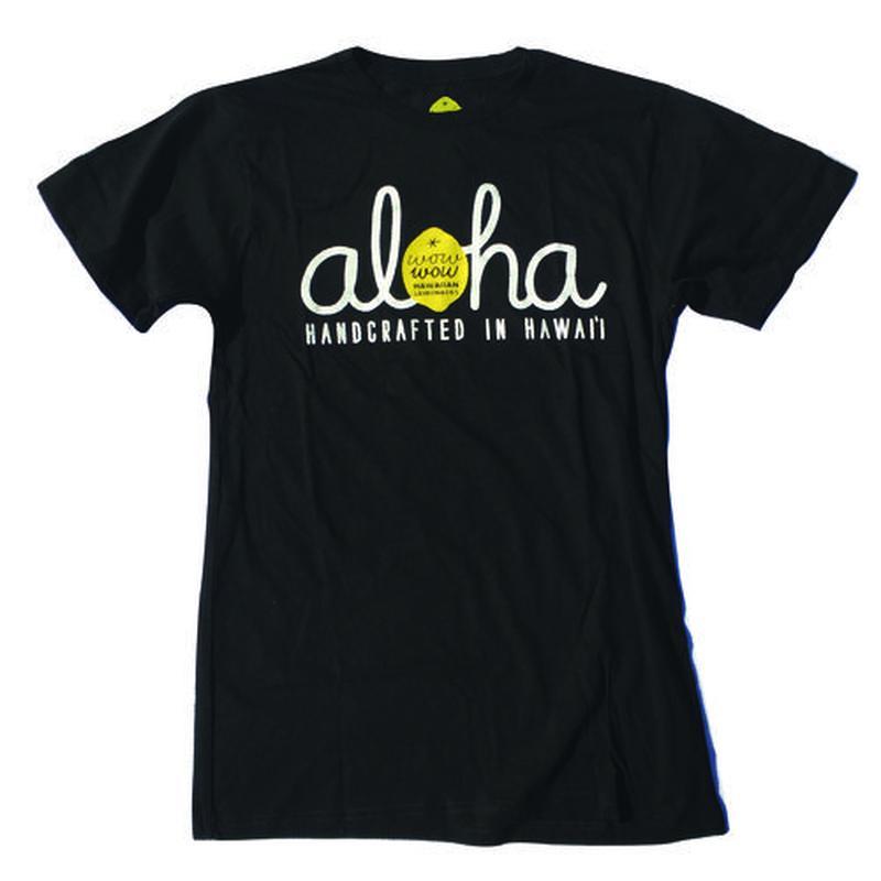 【ハワイ直入】ワウワウレモネード オリジナルTシャツ (Aloha柄)