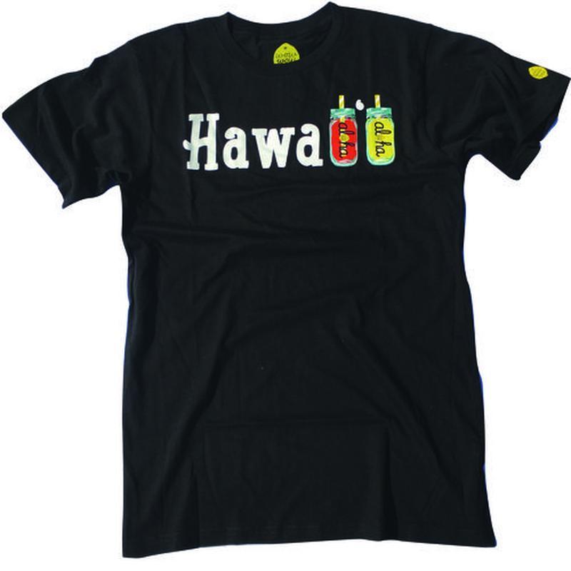 【ハワイ直入】ワウワウレモネード オリジナルTシャツ (Hawaii柄)