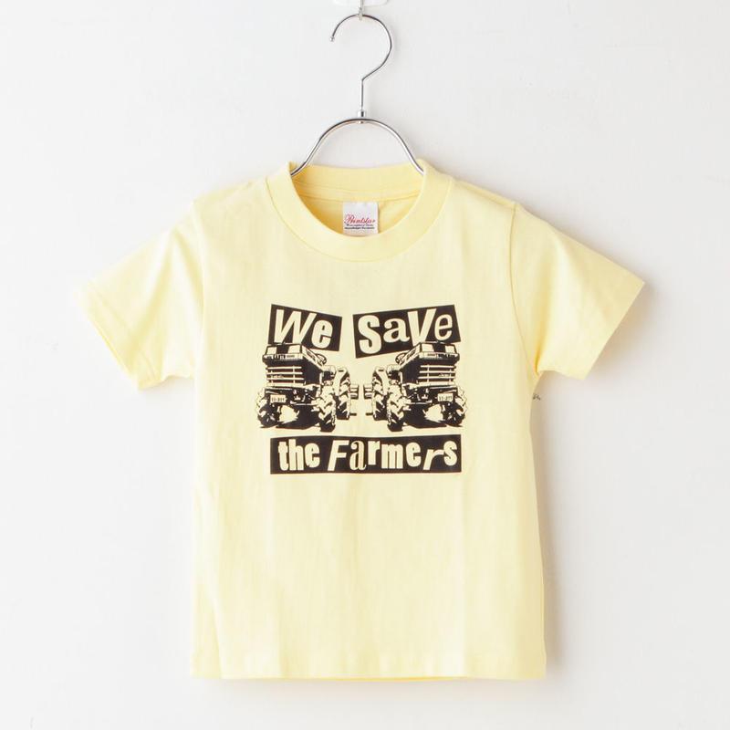 wstf Tシャツ Kids Yellow