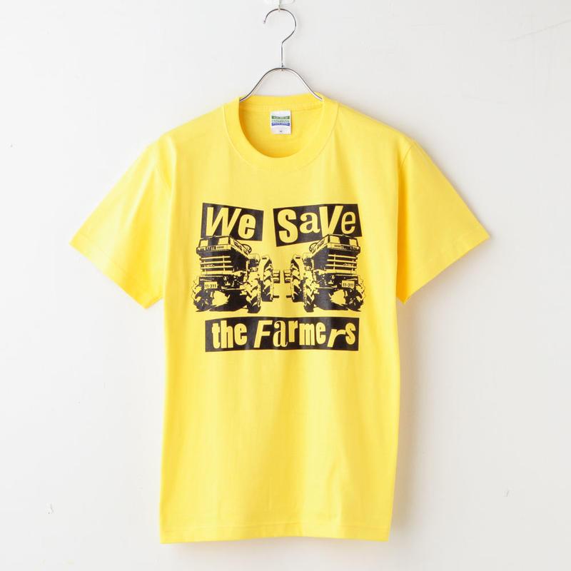 wstf Tシャツ Yellow