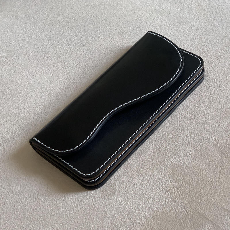 "Long Wallet  ""AKOGI""  Black"