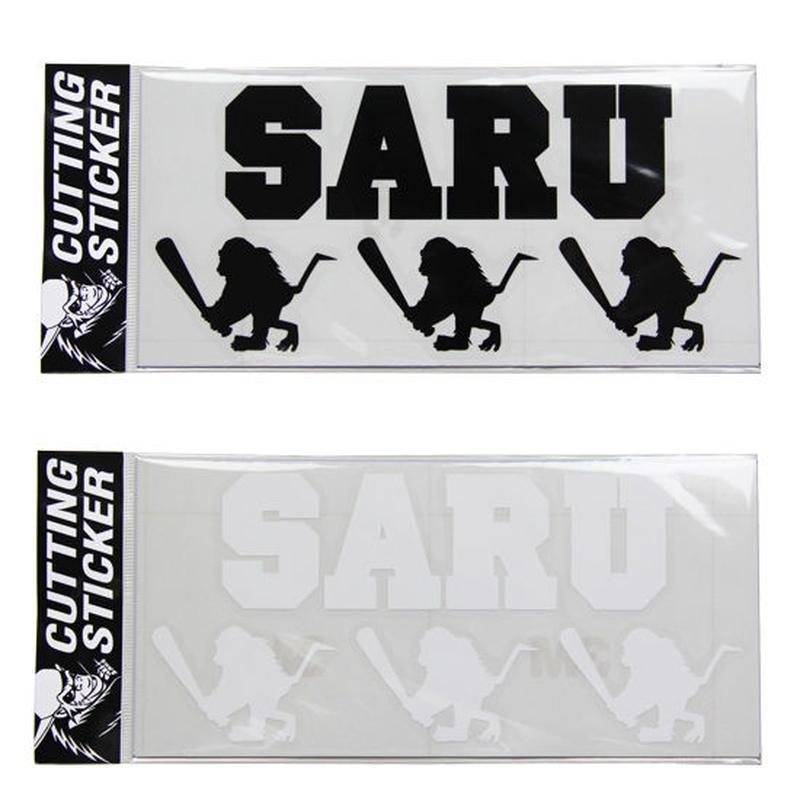 "【 Santastic! Kid's / サンタスティック キッズ 】Cutting Sticker ""SARU&BAT SARU"""