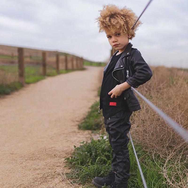 【HAUS OF JR / ハウスオブジュニア】Lex Leather Biker Jacket