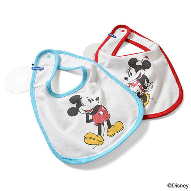 【LAFAYETTE / ラファイエット キッズ】Mickey Mouse / Minnie Mouse  Bib