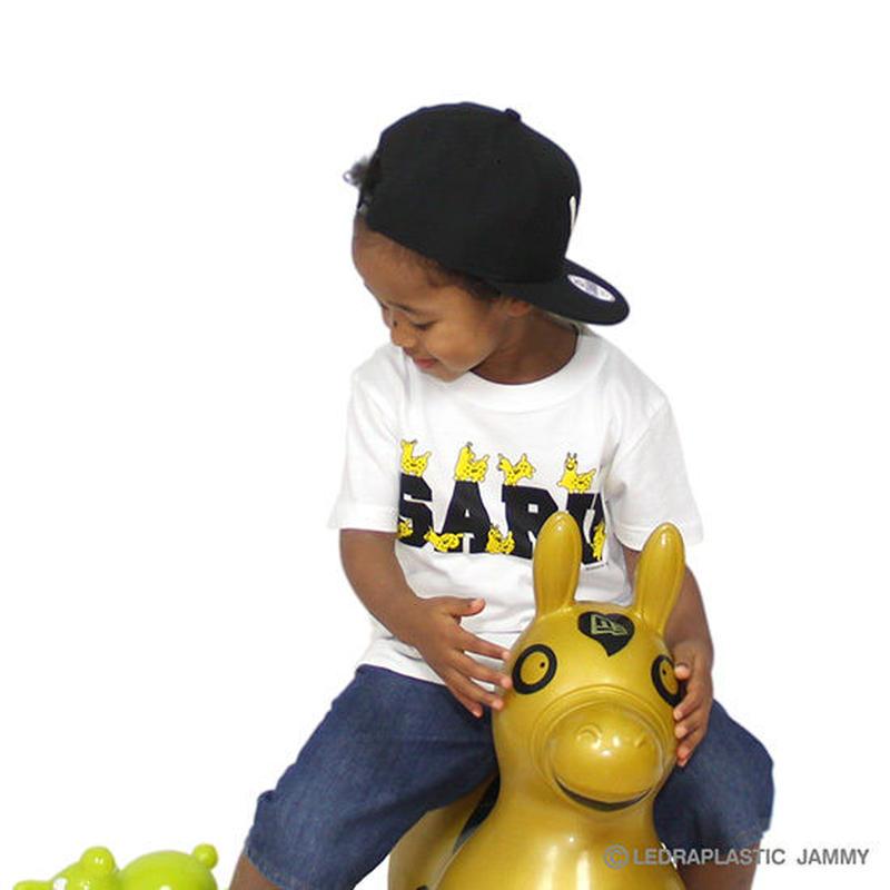 【 Santastic! Kid's / サンタスティック キッズ 】 SANTASTIC! × RODY KID'S SARU Tee Tシャツ / ホワイト