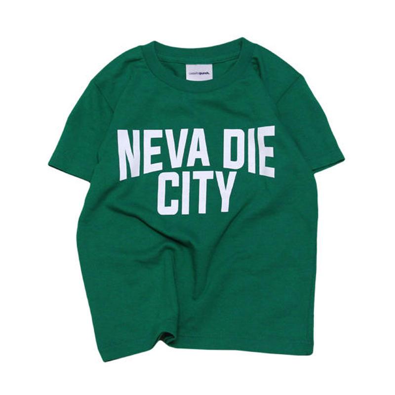 【 CASSETTE PUNCH / カセットパンチ 】 Neva Die City Kids Tee