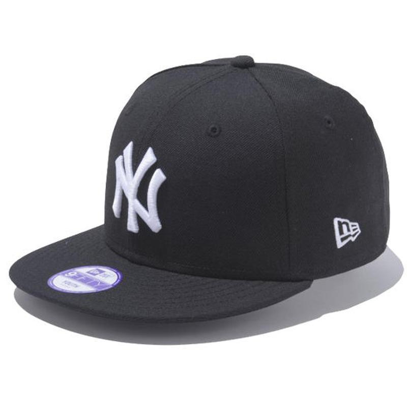 【 NEW ERA / ニューエラ 】 KIDS 9FIFTY ニューヨーク・ヤンキース スナップバック キャップ/ブラック×ホワイト
