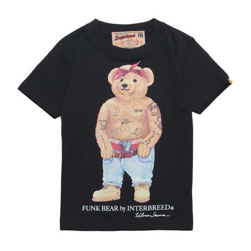 "【 INTERBREED / インターブリード 】BEAR ""2 Pac"" KIDS Tee"
