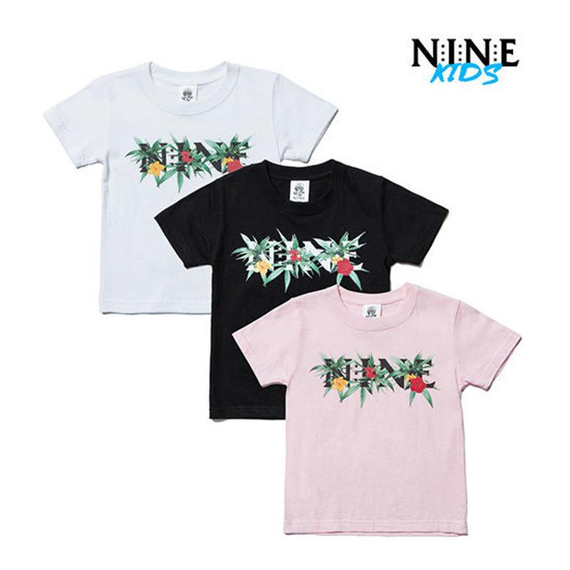 【 NINE RULAZ / ナインルーラーズ 】Flower Logo Kids Tee