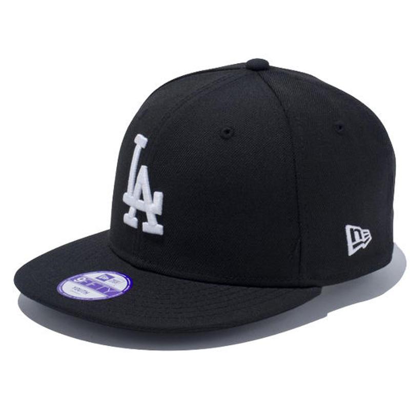 【 NEW ERA / ニューエラ 】 KIDS 9FIFTY ロサンゼルス・ドジャース スナップバック キャップ/ブラック
